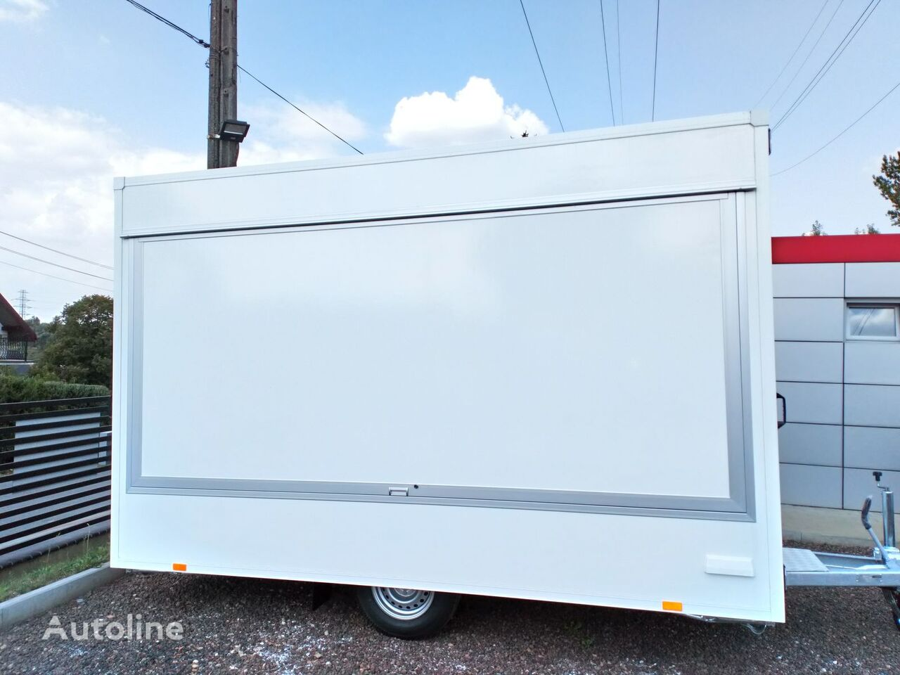 new BANNERT  3,7 m Food Truck, Imbiss, Handlowa, Piekarni vending trailer
