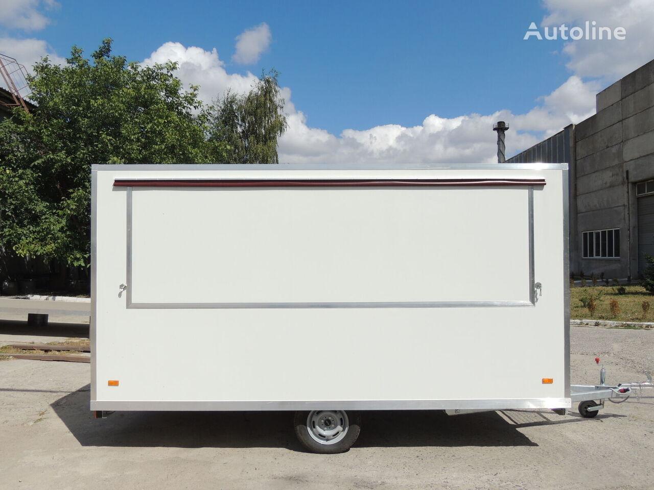 new BANNERT 4,00m imbiss vending trailer