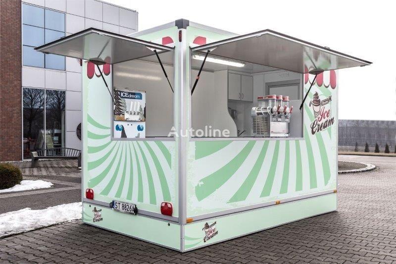 new BANNERT 4,2m Food Truck, Imbiss, Handel vending trailer