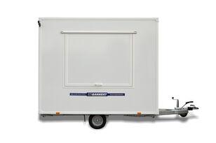 new BANNERT Przyczepa gastronomiczna 3,0 M, Trailer, Anhänger vending trailer
