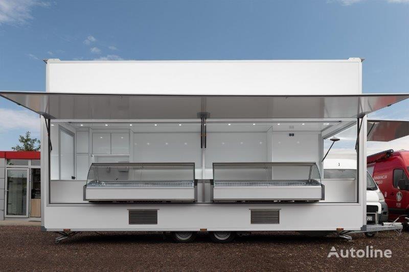 new BANNERT Przyczepa z ladą chłodniczą, Anhänger mit Kühltecke vending trailer