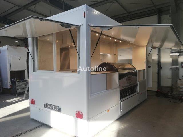 new BANNERT witryna lodowa vending trailer