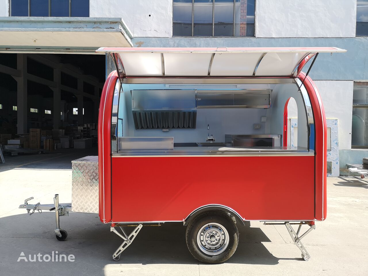 new ERZODA ERZODA Catering trailer | Food Truck | coffee trailer vending trailer