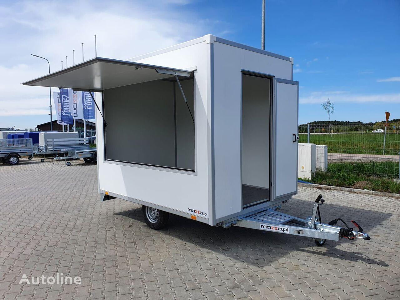 new Food Trailer 3.5x2x2.3m  Verkaufsanhänger vending trailer