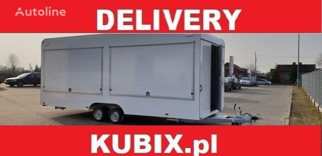 new KUBIX CATERING TRAILER Tomplan TH623T.00 PRZYCZEPA GASTRONOMICZNA 6,2x vending trailer