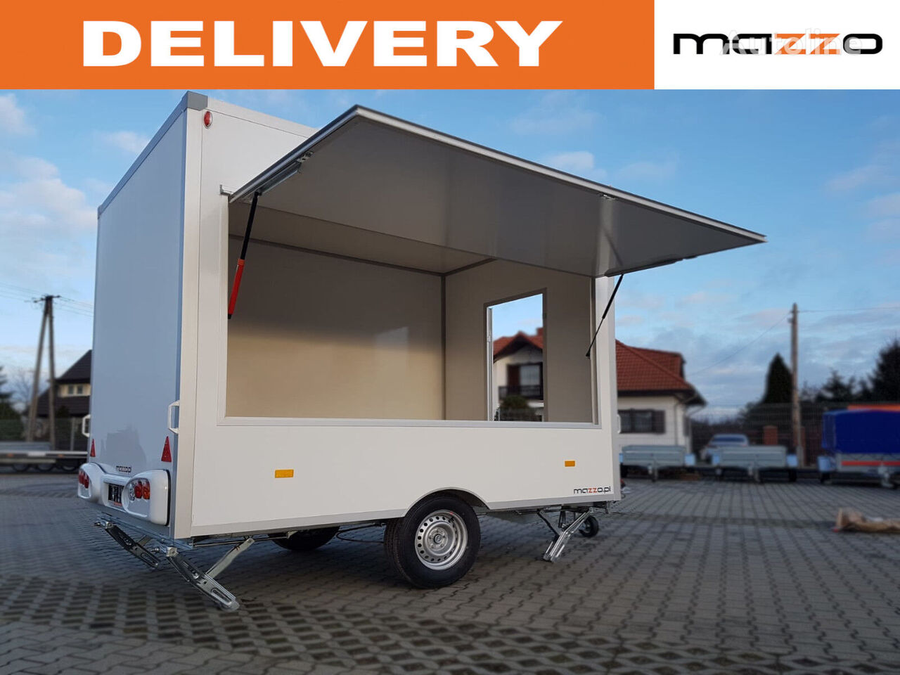 new NIEWIADOW H13421HG  vending trailer