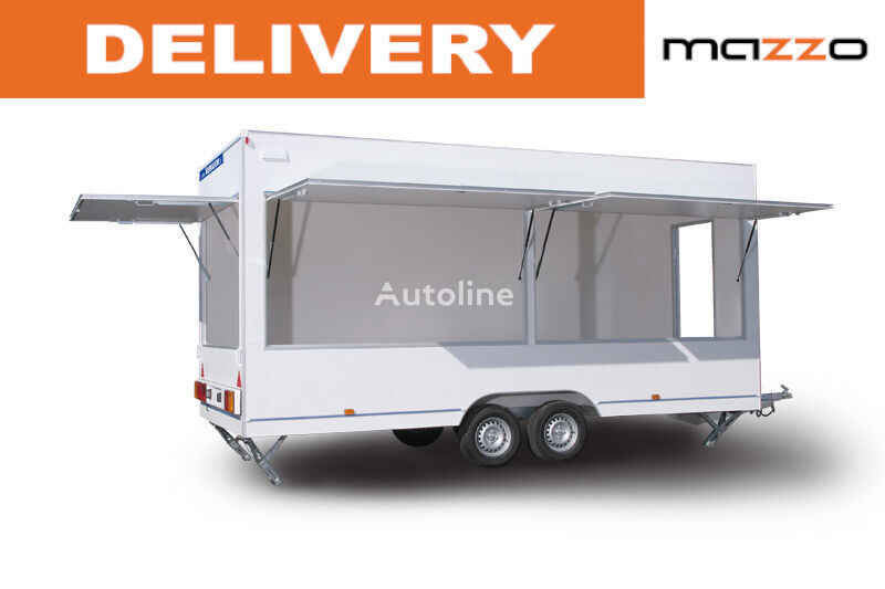 new NIEWIADOW H25522HT 520x203x230 GVW 2500kg Verkaufsanhänger CATERING traile vending trailer
