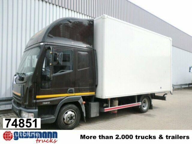 IVECO EuroCargo 75 E 17/4x2 Standheizung/Klima box truck