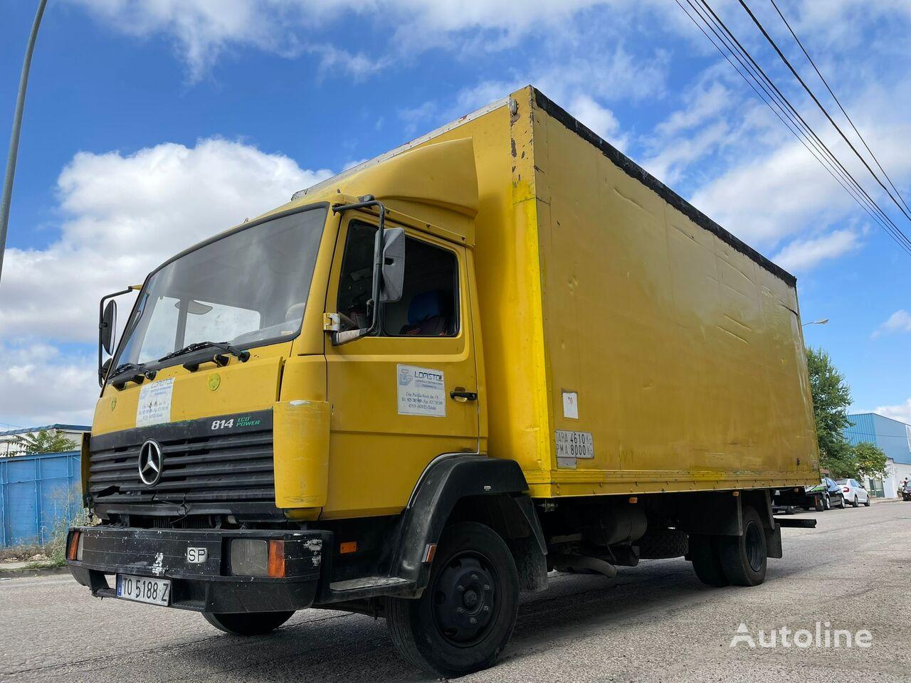 MERCEDES-BENZ 814 ECO POWER box truck