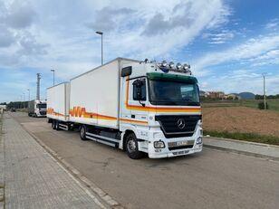 MERCEDES-BENZ ACTROS 1844 box truck + trailer