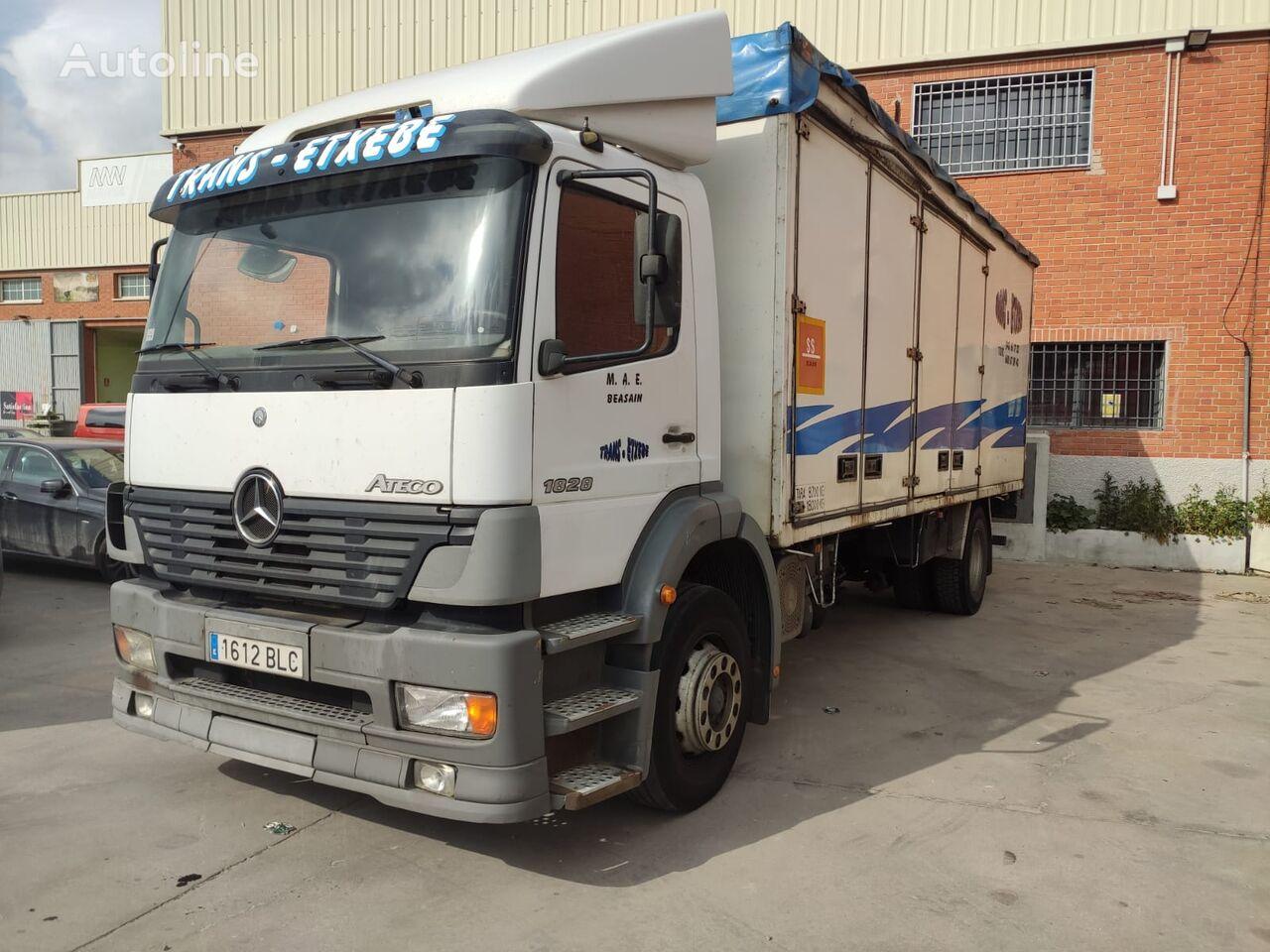 MERCEDES-BENZ Atego 1828 box truck