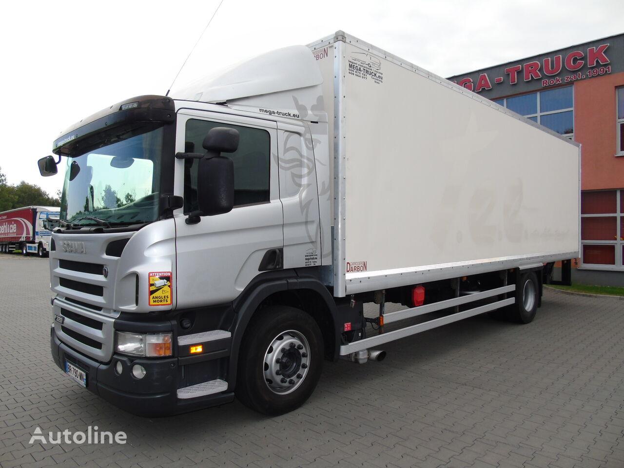SCANIA P320 RETARDER dł.8,30 SYPIALKA SUPER STAN box truck