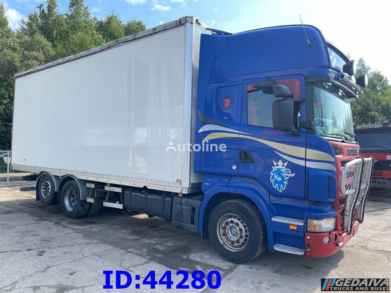 SCANIA R500 6x2 - Retarder box truck