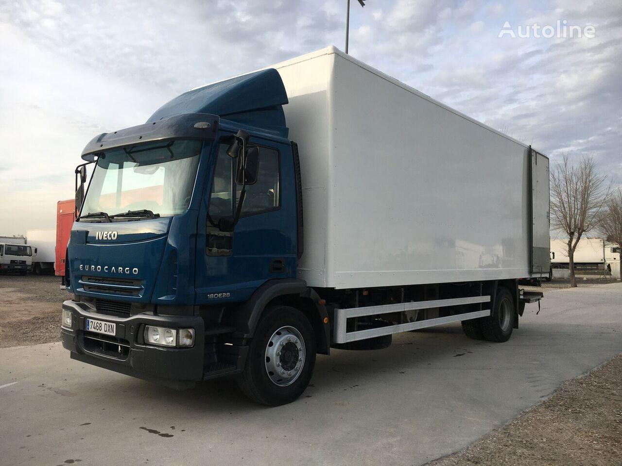 IVECO 280. FURGON 17 PALETS box truck