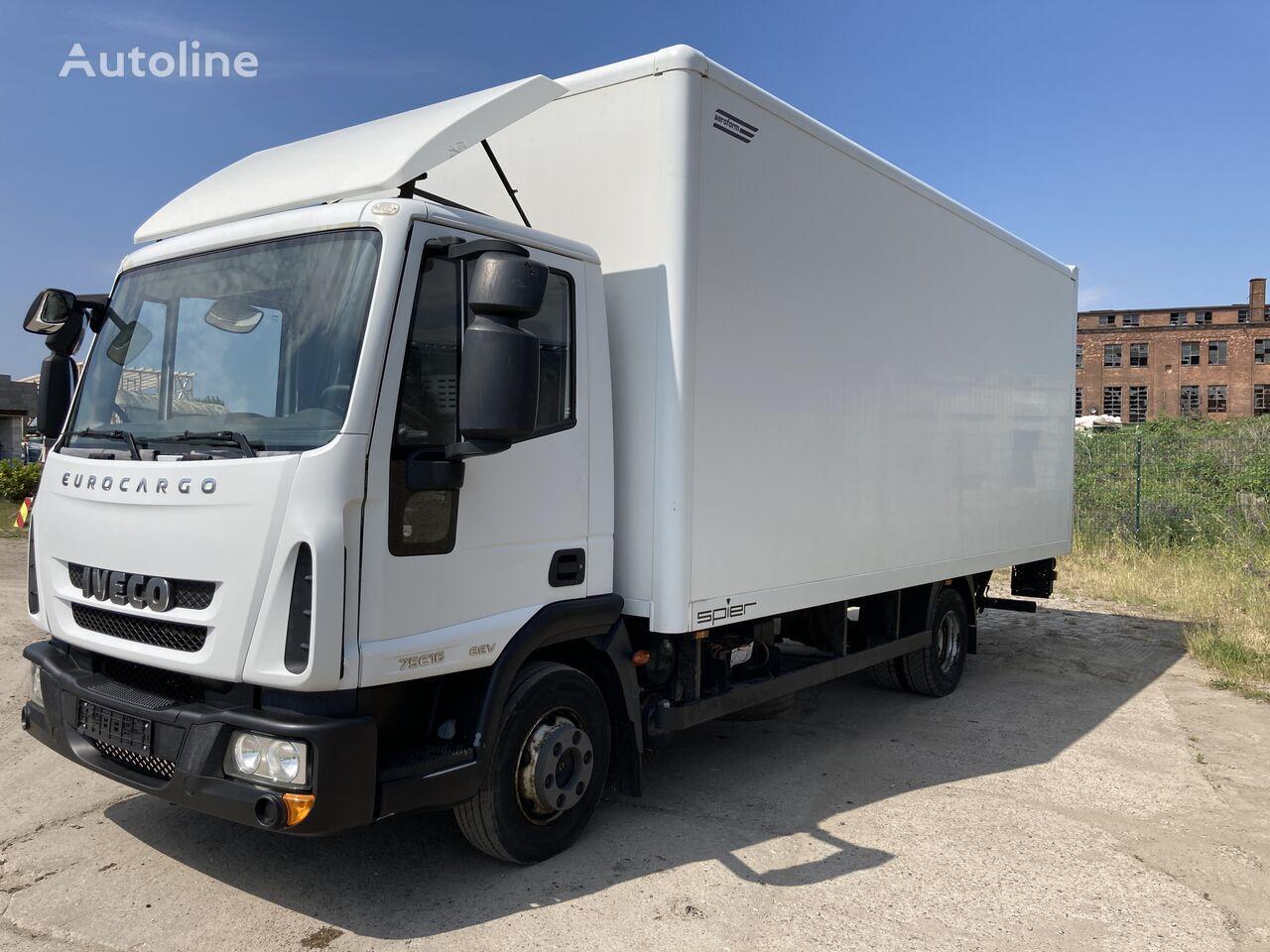 IVECO 75E16 Koffer LBW   box truck