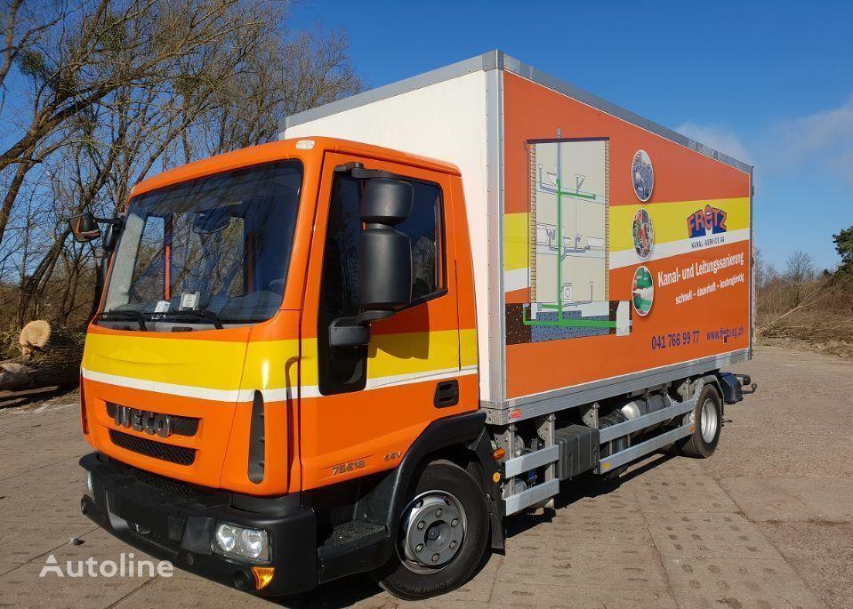 IVECO 75E18 EUROCARGO box truck