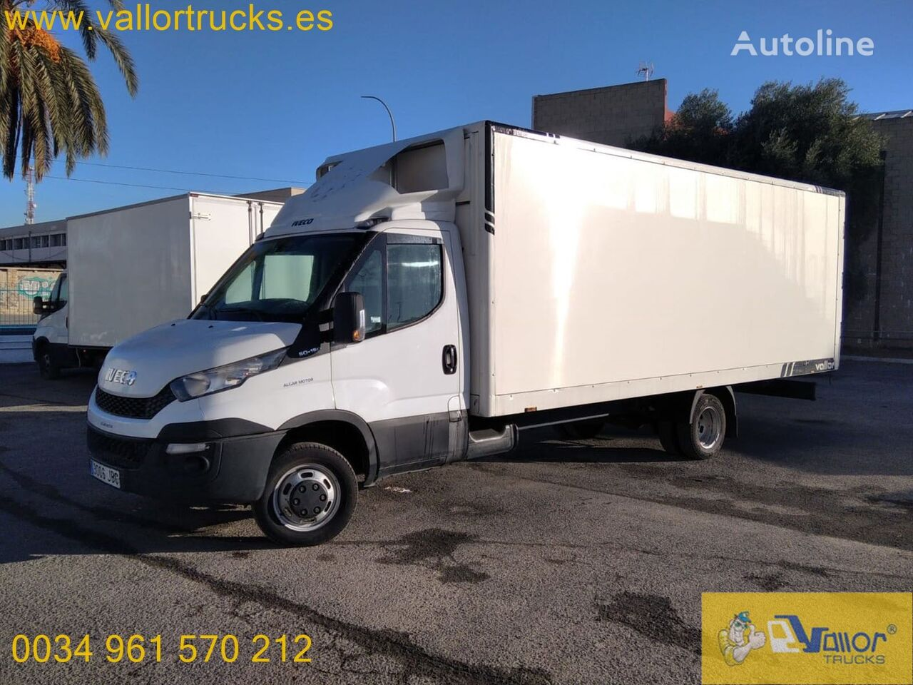 IVECO Daily 50C15 box truck