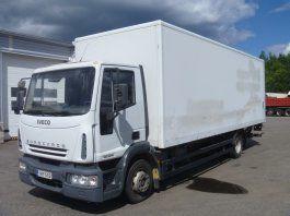 IVECO EuroCargo 120 E18 box truck