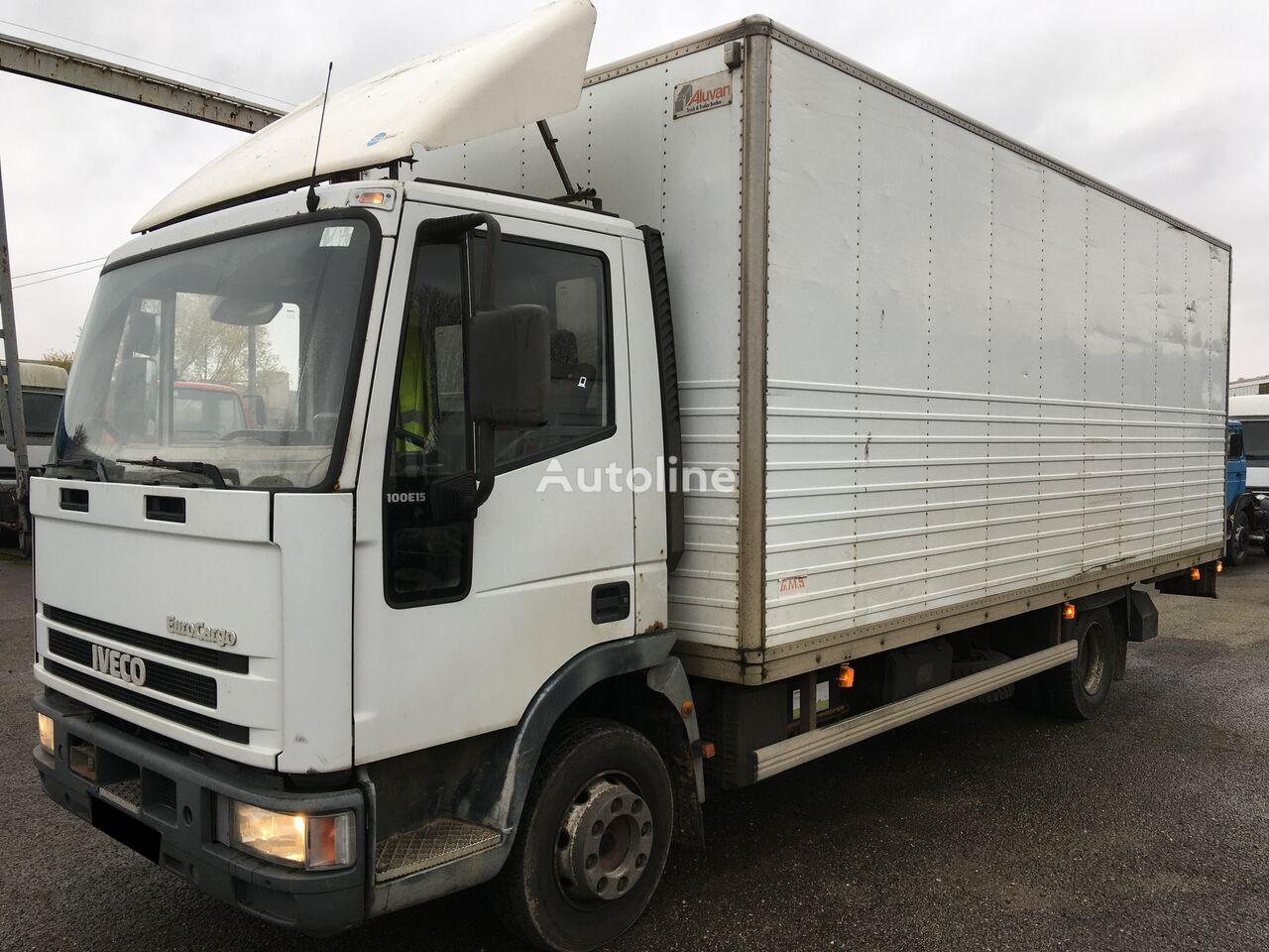 IVECO eurocargo 100E15 fourgon box truck