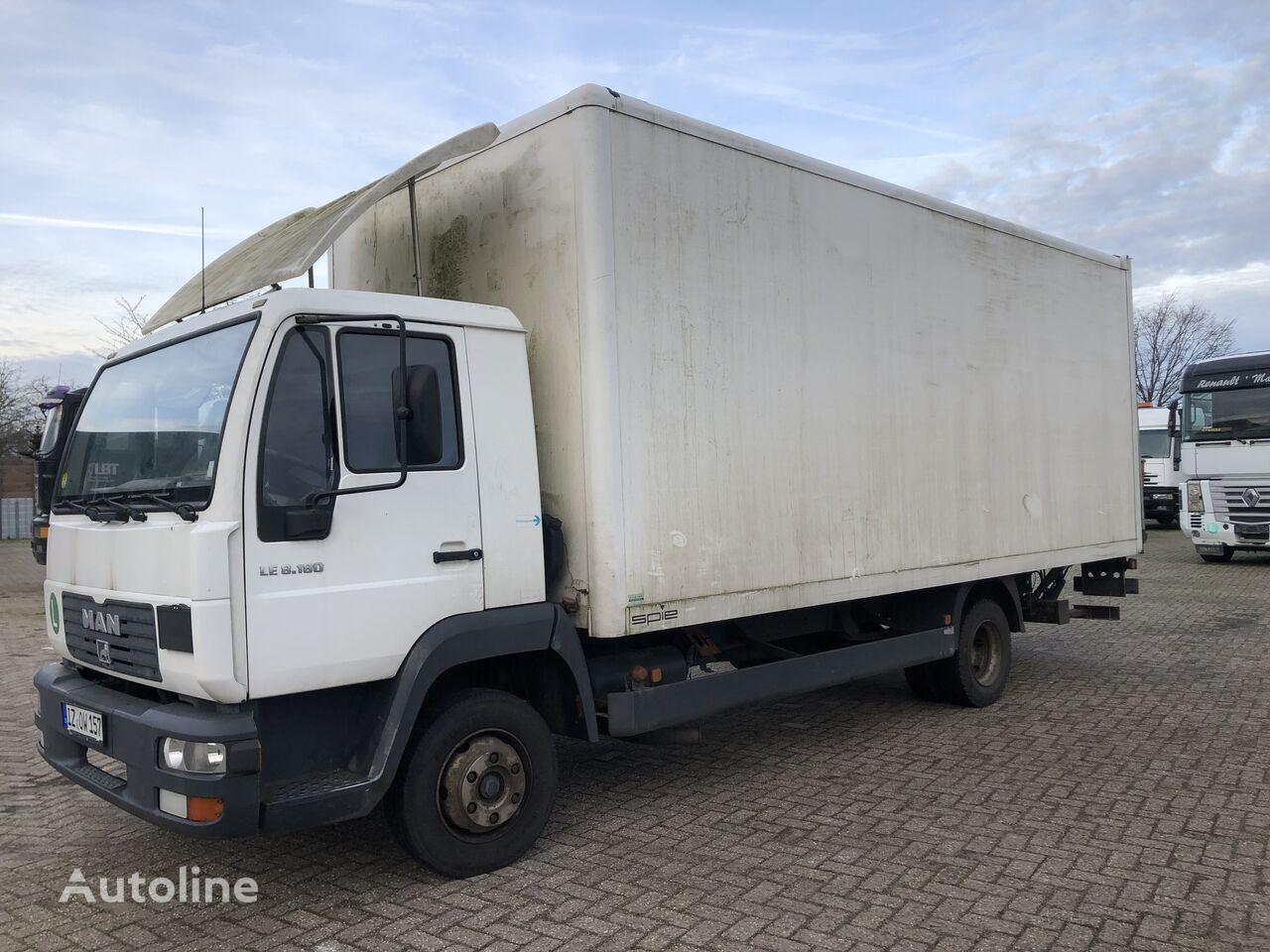 MAN L2000. LE 8.180 box truck