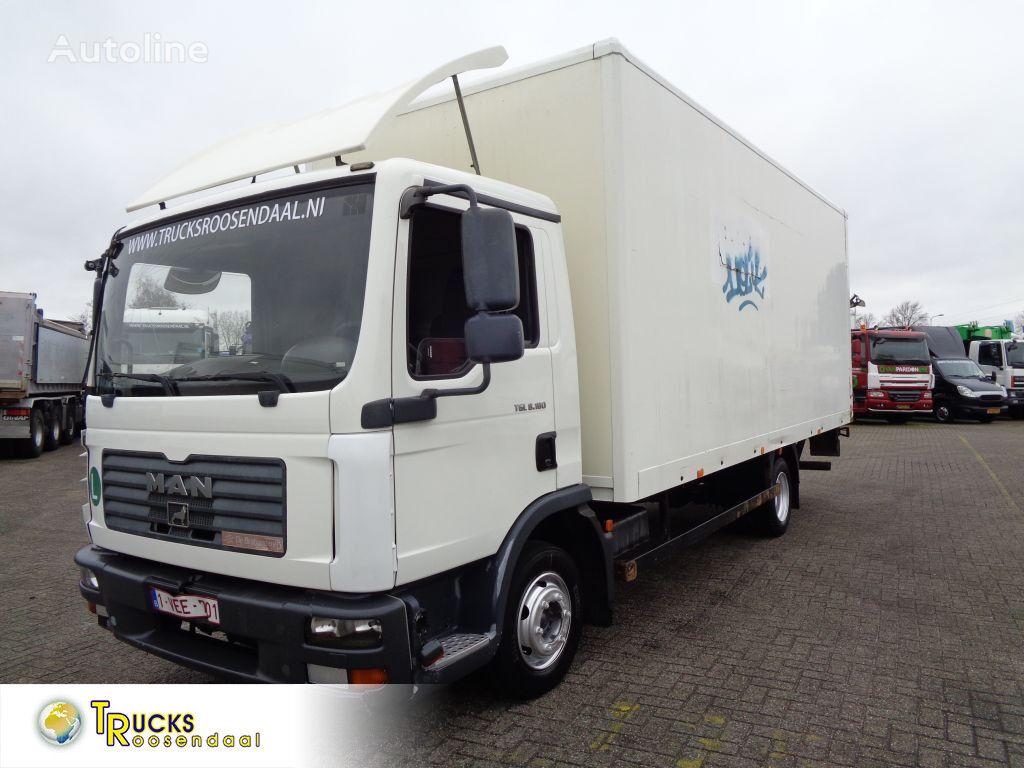 MAN TGL 8.180 + MANUAL + Lift box truck