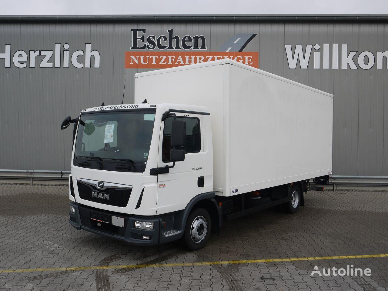 MAN TGL 8.190BL, Euro 6, Dhollandia LBW, Bl/Lu, AHK box truck