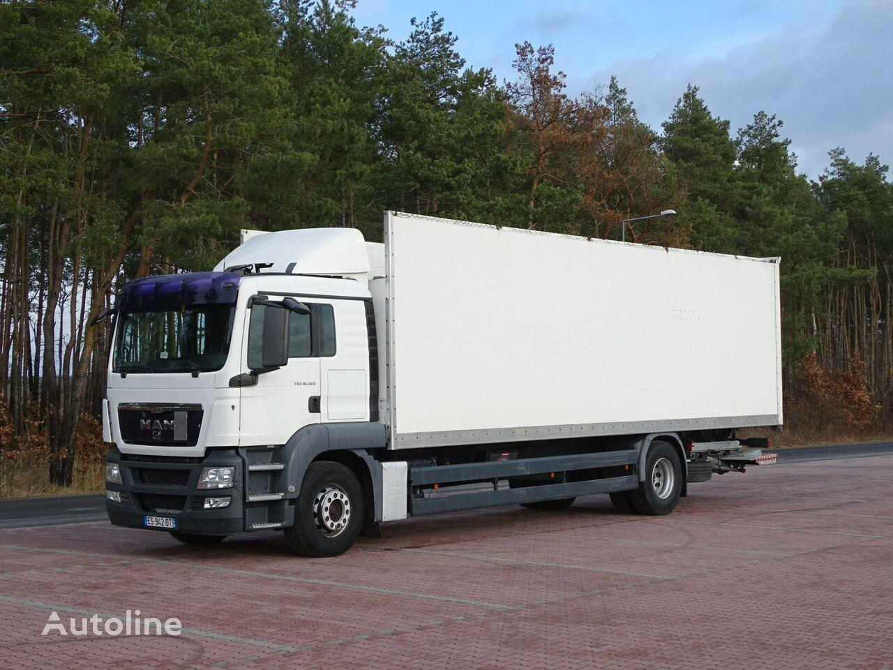 MAN TGS 18.320  box truck