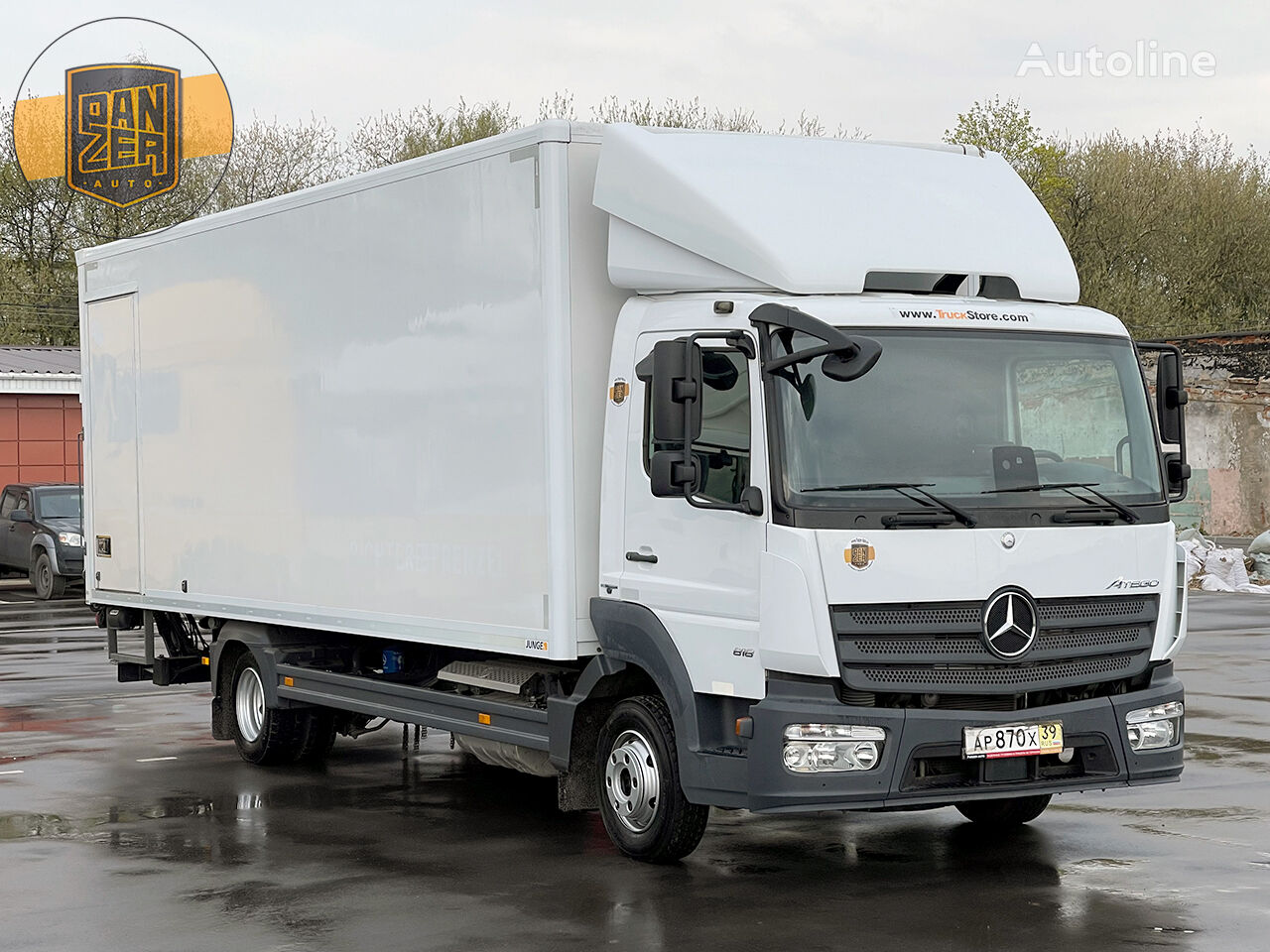 MERCEDES-BENZ ATEGO box truck
