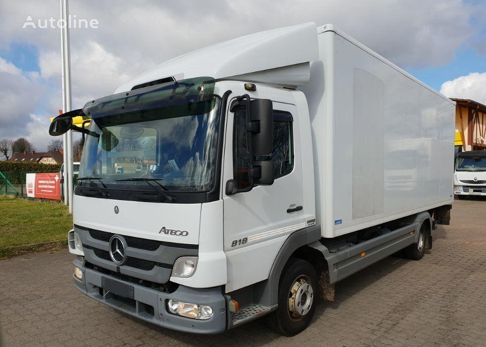 MERCEDES-BENZ ATEGO 818 box truck