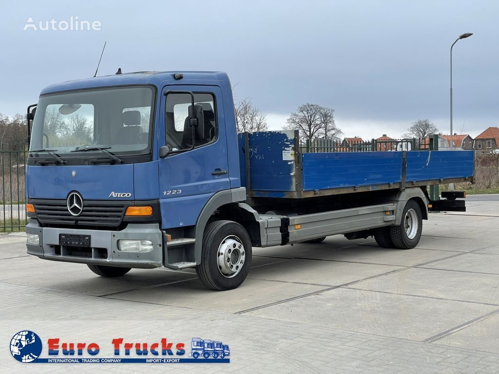 MERCEDES-BENZ Atego 1223 box truck