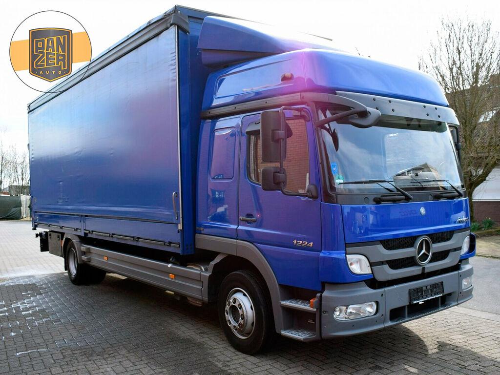 MERCEDES-BENZ Atego 1224 box truck
