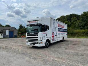 SCANIA 124 box truck
