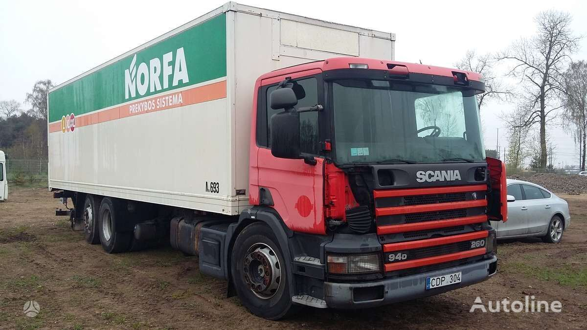 SCANIA 94 D box truck for parts