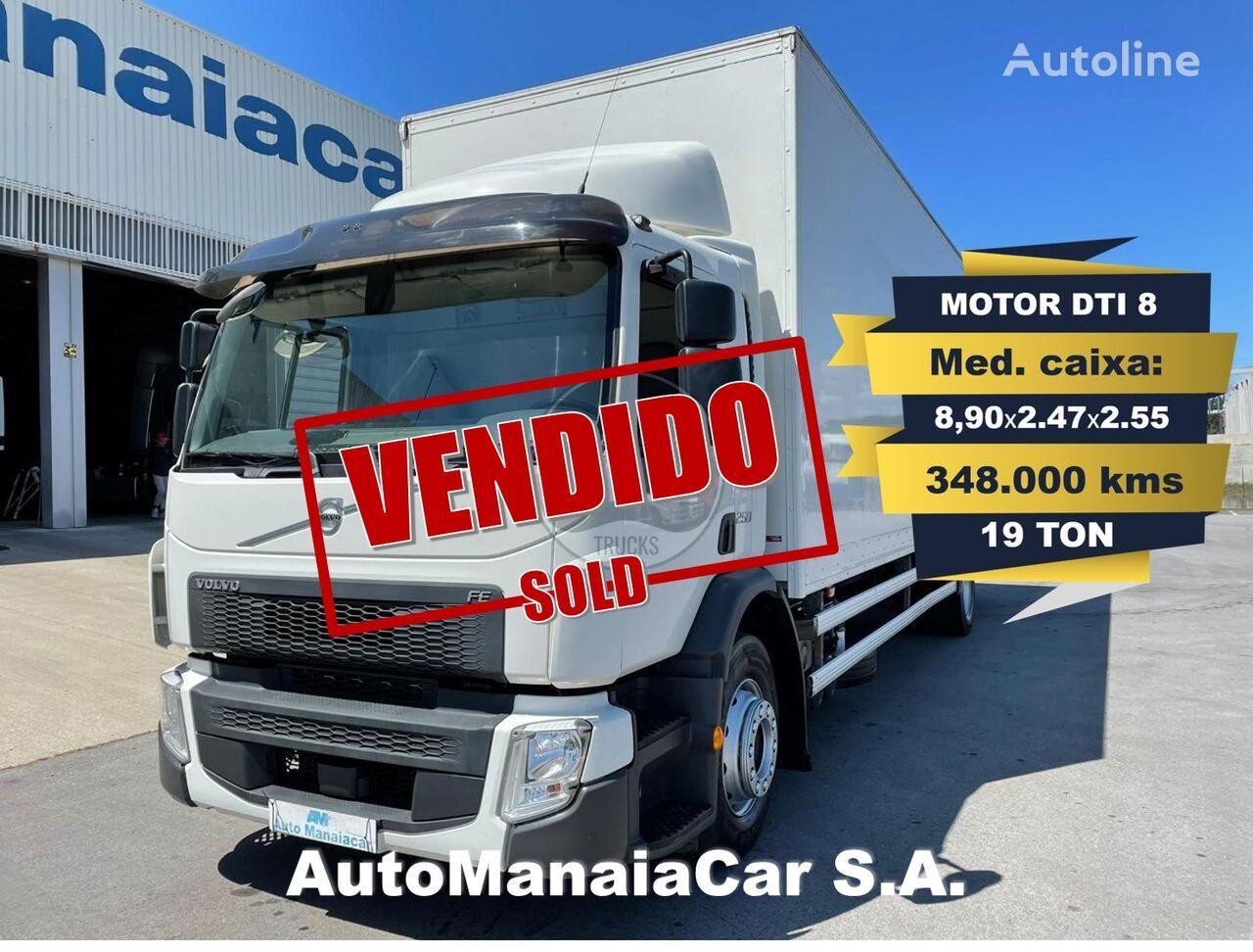VOLVO FE 250 box truck