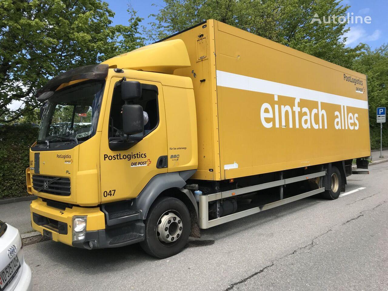VOLVO FLL-280 box truck