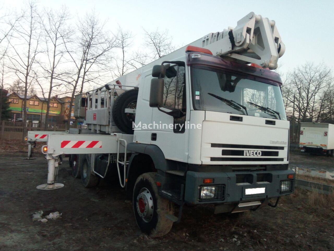 IVECO Euro Trakker 6x6 bucket truck