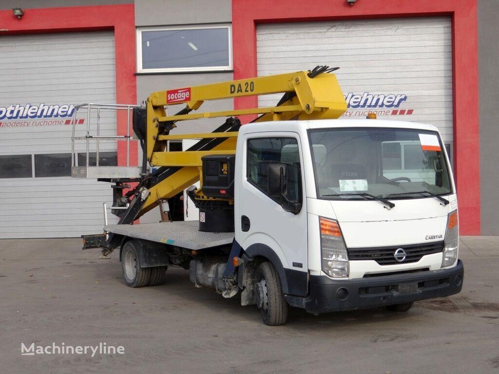 NISSAN Cabstar / Socage DA20 bucket truck