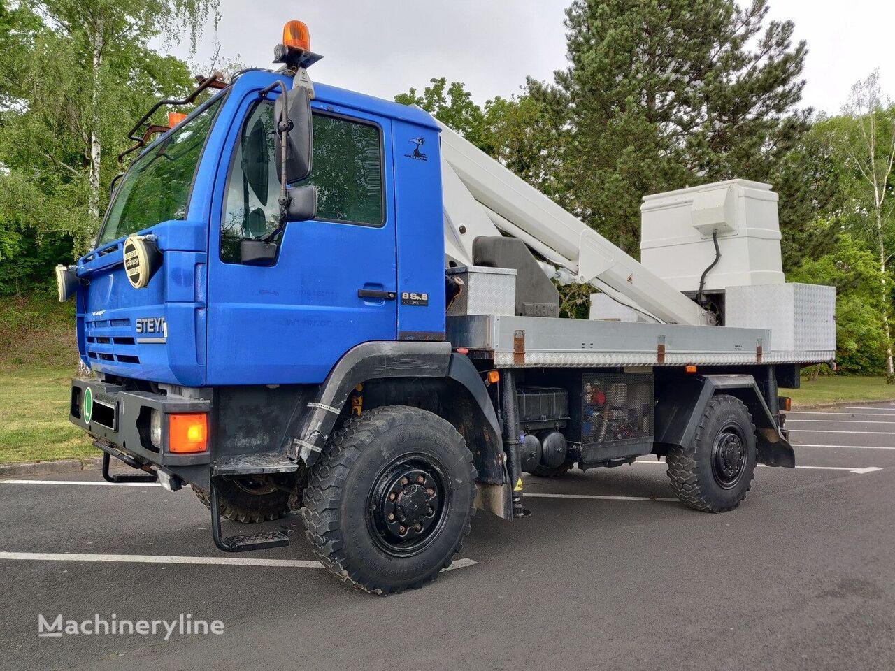 STEYR 4x4 RAM Antares 160T na  8s16 MAN bucket truck
