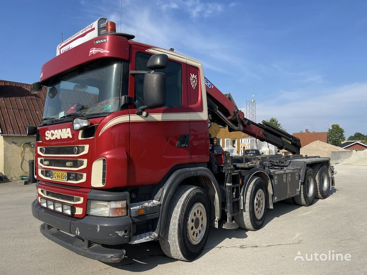 SCANIA G400   cable system truck