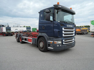 SCANIA R420 cable system truck