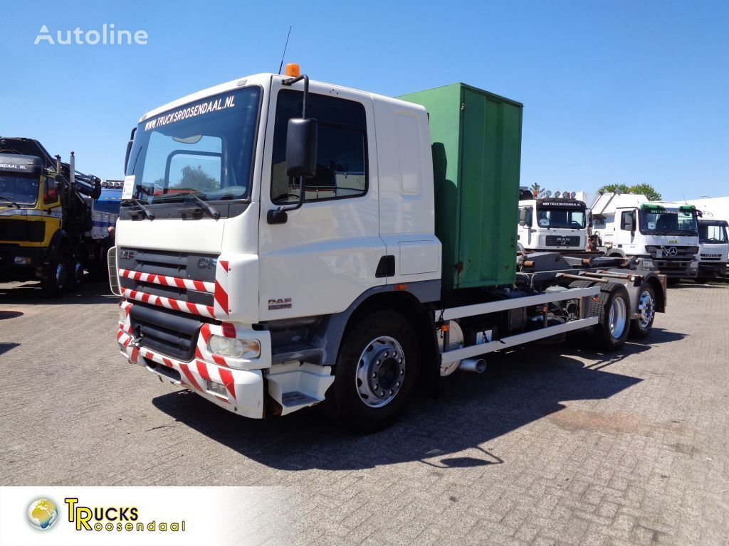 DAF CF 75.310 + Manual + chain container system cable system truck