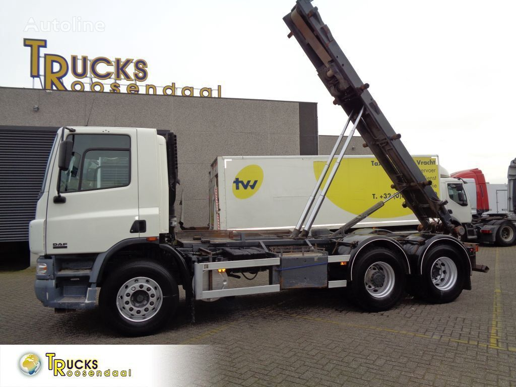 DAF CF 75.310 + Manual + container system + 304119 KM! cable system truck