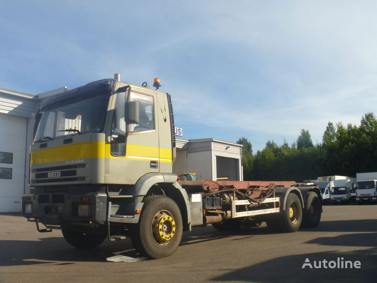 IVECO 260 E37 cable system truck