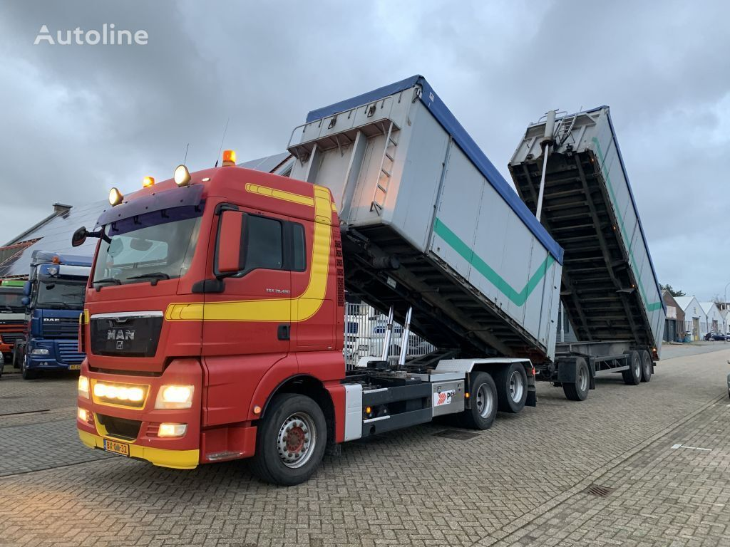MAN TGX 28.480 6X2 Containersystem APK/TUV tot 11-2020 cable system truck