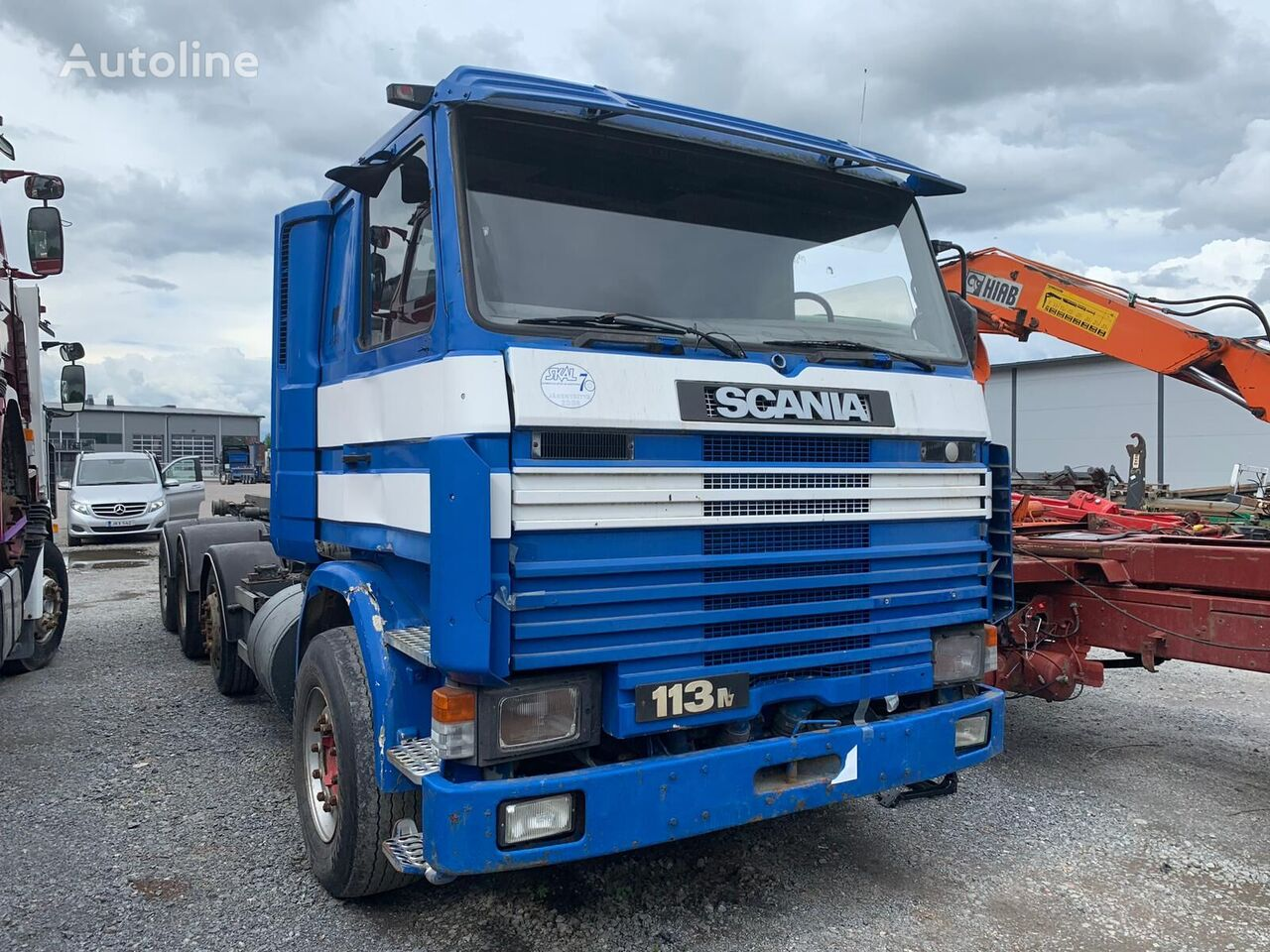 SCANIA R113 8x2  cable system truck