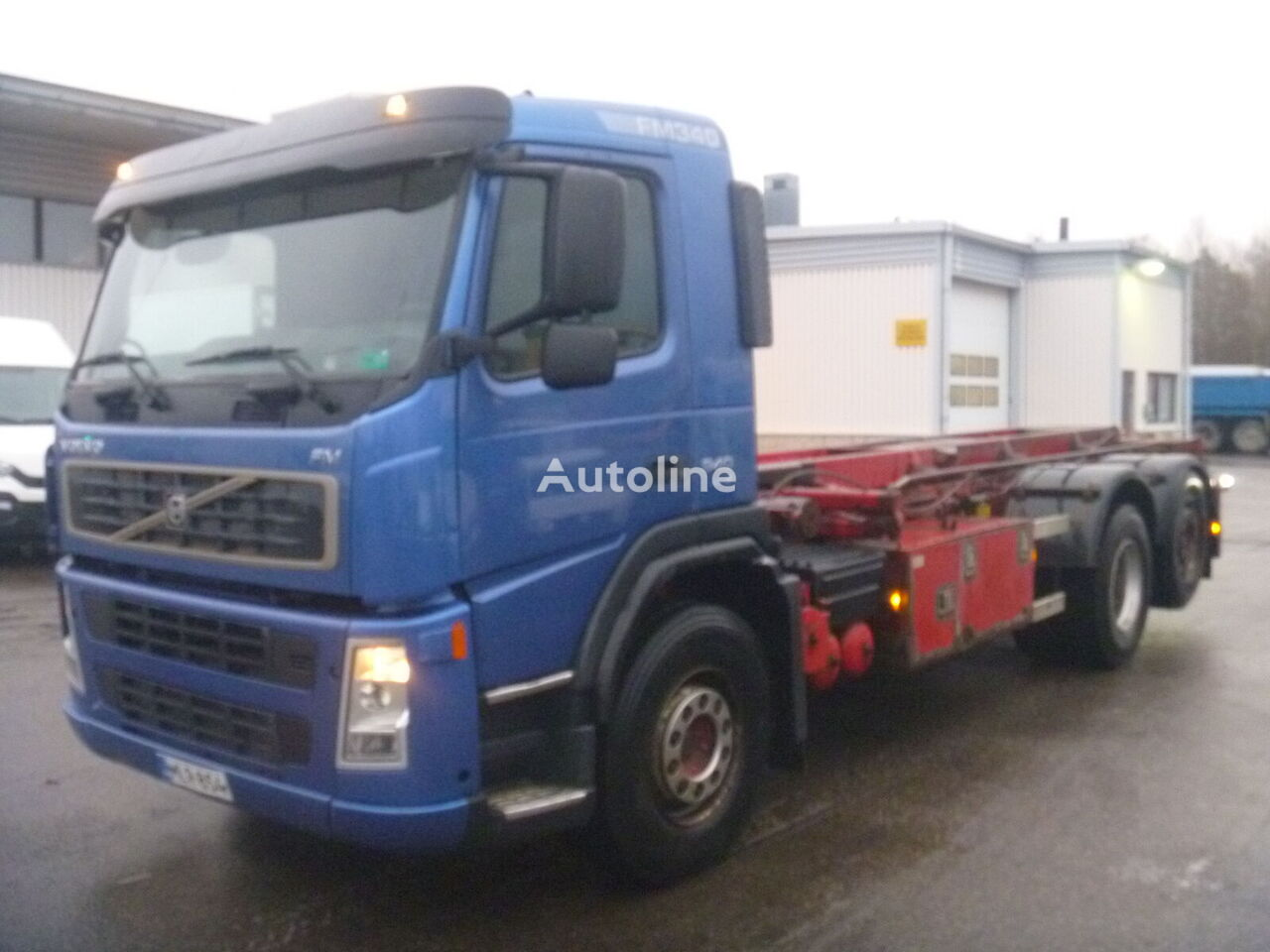 VOLVO FM9 6X2 cable system truck