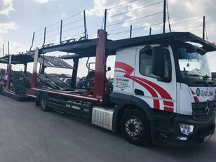 MERCEDES-BENZ Actros 1840 Euro 6 + Lohr CHR car transporter + car transporter trailer