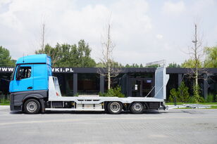 MERCEDES-BENZ Actros 2542 , E6 , MEGA , NEW BODY , car tow 10T , hydraulic ram car transporter