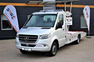 new MERCEDES-BENZ Sprinter 519 V6  NAVI LED LUFTFEDERUNG NEU MODEL 907  car transporter