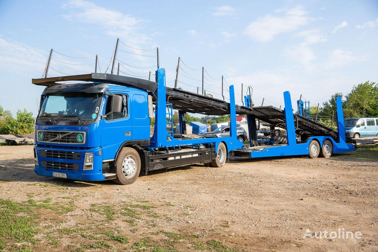 VOLVO FM 4x2 R car transporter + car transporter trailer